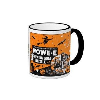 Vintage Halloween Chewing Gum Whistle Ringer Mug