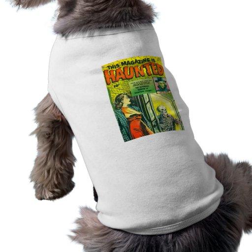 Vintage Halloween Comic Book Pet Tee
