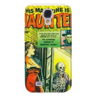 Vintage Halloween Comic Book Galaxy S4 Cases
