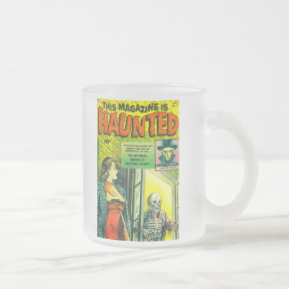 Vintage Halloween Comic Book Coffee Mug