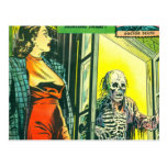 Vintage Halloween Comic Book Postcards