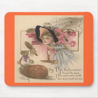 Vintage Halloween Dearest Mouse Pad