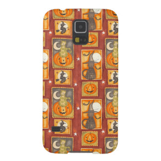 Vintage Halloween Galaxy S5 Covers