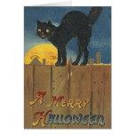 Vintage Halloween Greeting Card