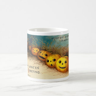Vintage Halloween Greeting Cards Classic Posters Coffee Mug