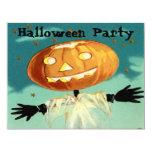 Vintage Halloween Invitations 11 Cm X 14 Cm Invitation Card