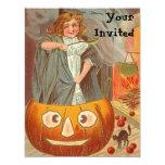 """Vintage Halloween Invitations 4.25"""" X 5.5"""" Invitation Card"""