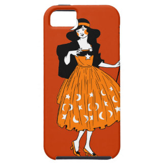 Vintage Halloween Moonlight Fairy Cover For iPhone 5/5S