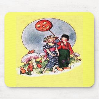 Vintage Halloween Mouse Pad