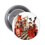 Vintage Halloween Party 6 Cm Round Badge