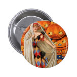 Vintage Halloween Pinback Buttons