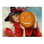 Vintage Halloween Post Card