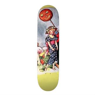 Vintage Halloween Skateboard Deck