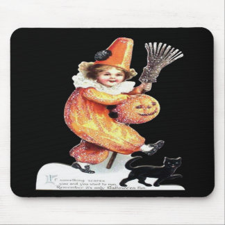 Vintage Halloween Sparkling Costume Party Mousepads