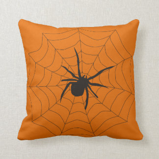 Vintage Halloween Spider Cushion