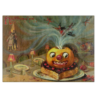 Vintage Halloween Table Cutting Boards