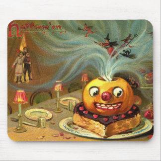 Vintage Halloween Table Mousepad