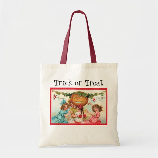 Vintage Halloween Trick or Treat bags!