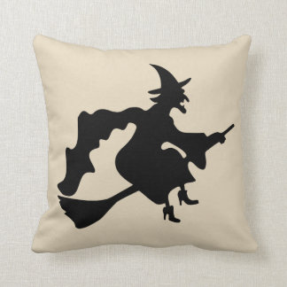 Vintage Halloween Witch pillow
