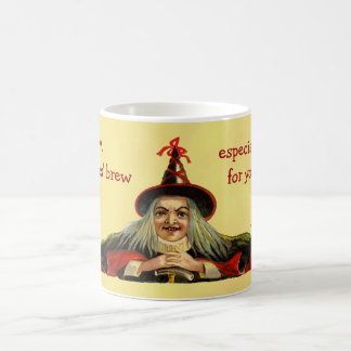 Vintage Halloween Witches' Brew Mo... Morphing Mug