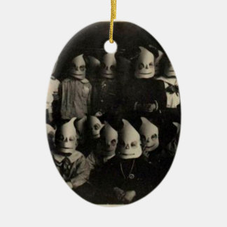 Vintage halloween's costumes photo in Ireland Christmas Ornament