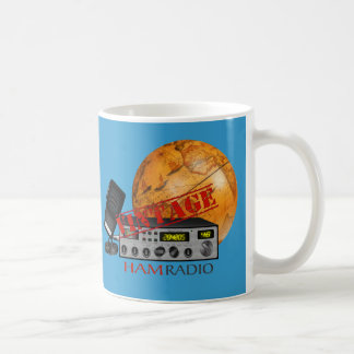 Vintage Ham (radio) Basic White Mug