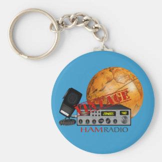 Vintage Ham (radio) Key Ring