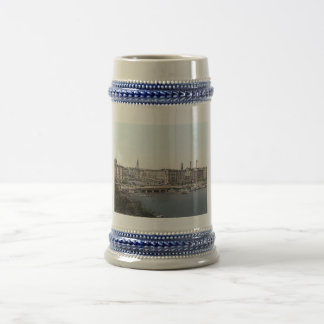 Vintage Hamburg,Germany 1890's Beer Stein
