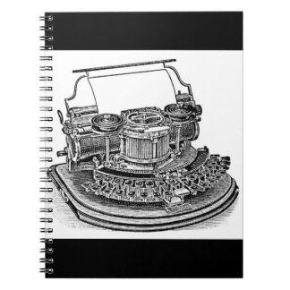 Vintage Hammond No. 2 Typewriter Notebooks