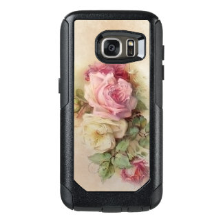 Vintage Handpainted Style Roses OtterBox Samsung Galaxy S7 Case