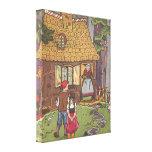 Vintage Hansel and Gretel Fairy Tale by Hauman Canvas Prints