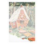 Vintage Hansel and Gretel; Witch's House of Candy Stationery Design
