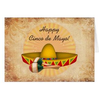 Vintage Happy Cinco de Mayo Card