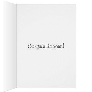Vintage Happy Dancing Bears Toast Congratulations! Note Card