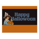 Vintage Happy Halloween Postcards