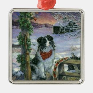 Vintage Happy Holidays Christmas Ornament