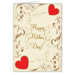 Vintage Happy Mother's Day! Greeting Card
