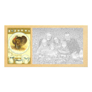 Vintage Happy Thanksgiving Photocard Picture Card