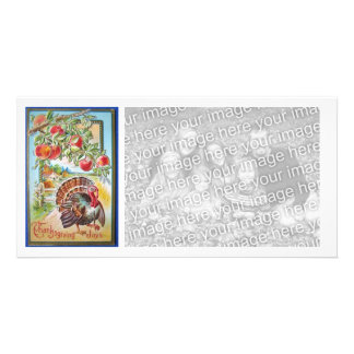 Vintage Happy Thanksgiving Photocard Photo Card