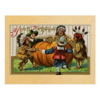 Vintage Happy Thanksgiving Postcards