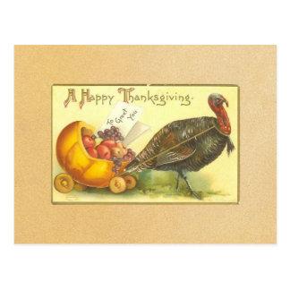 Vintage Happy Thanksgiving Postcard