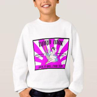 Vintage Hard Wok Cafe Sign Sweatshirt