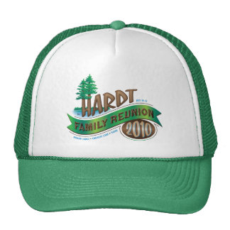 Vintage Hardt Family Reunion Cap