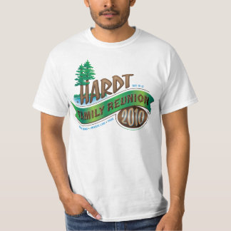 Vintage Hardt Family Reunion T Shirt
