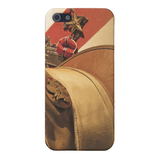 Vintage Hat, Flag, Medal Veterans Day iPhone Case iPhone 5 Cover