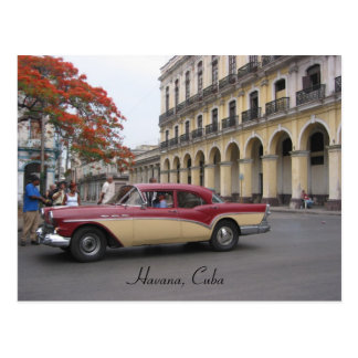 vintage havana post card