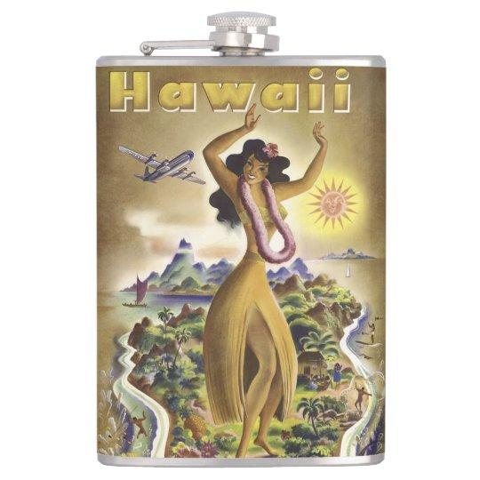 Vintage Hawaii 2 Hip Flask
