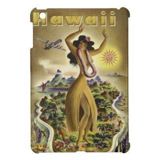 Vintage Hawaiian Travel Poster iPad Mini Cover