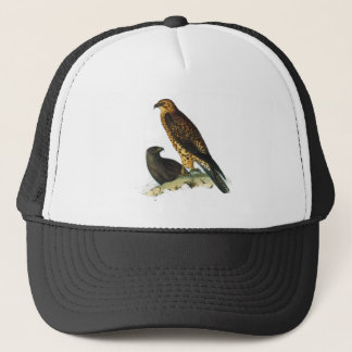 Vintage Hawks Illustration Trucker Hat
