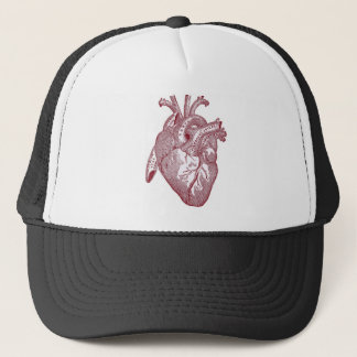 Vintage heart anatomy Birthday Gifts Doctor Trucker Hat